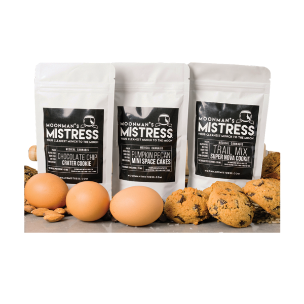 MOON MAN'S MISTRESS Chocolate chip crater cookies (10packs)